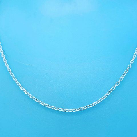 Genuine 925 Sterling Silver Mini Belcher Chain Available In Different Lengths
